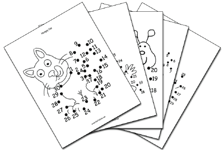 Dot-To-Dot Collection Dot To Dot Puzzle
